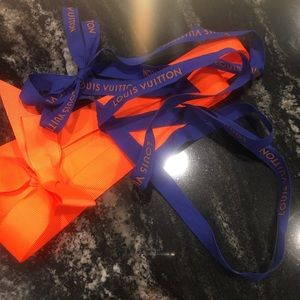 Louis Vuitton Ribbon!